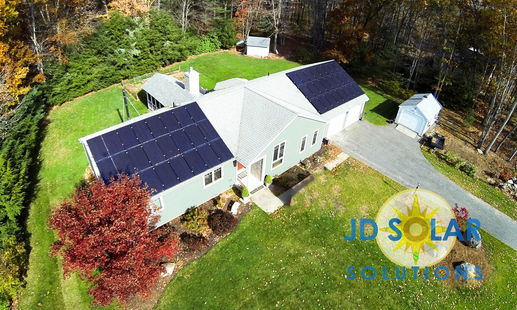 Rocky Hill Residental Solar Install