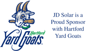 JD Solar Solutions is a proud supporter of the Hartford Yard Goats